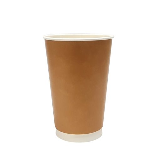 16oz Double Wall Paper Cup Kraft