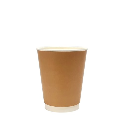 8oz Double Wall Paper Cup Kraft