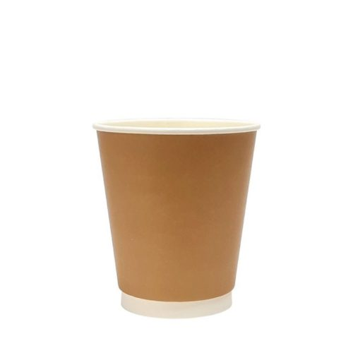10oz Kraft Double Wall Paper Cup