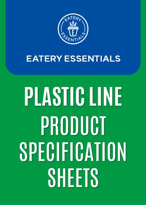 Cover Plastic Line Spec Sheet