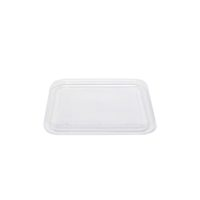 PET 6x6 snack container lid